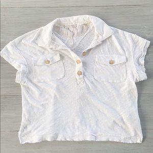 We The Free  oversized shirt | size sm